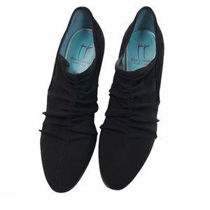 Thierry Rabotin Black Suede shoes Sz 38 1/2